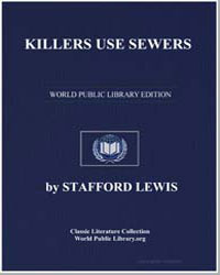 Killers Use Sewers by Lewis, Stafford