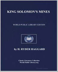 King Solomon's Mines by Haggard, Henry Rider