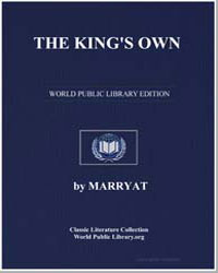 The King's Own by Marryat, Frederick, Captain