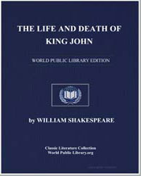 The Life and Death of King John by Shakespeare, William