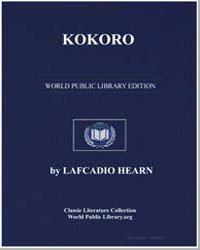 Kokoro by Hearn, Lafcadio