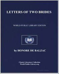 Letters of Two Brides by De Balzac, Honore