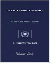 The Last Chronicle of Barset by Trollope, Anthony
