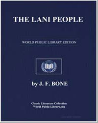 The Lani People by Bone, J. F.