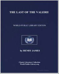 The Last of the Valerii by James, Henry