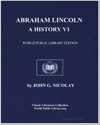 Abraham Lincoln : A History V1 by Nicolay, John George