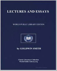 Lectures and Essays by Smith, Goldwin