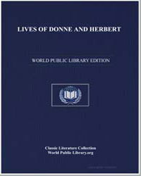 Lives of Donne and Herbert by Hutchinson, Joshua