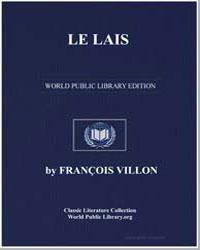 Le Lais by Villon, François