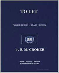 To Let by Croker, B. M.
