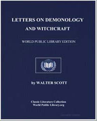 Letters on Demonology and Witchcraft by Scott, Walter, Sir