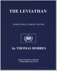 The Leviathan by Hobbes, Thomas