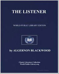 The Listener by Blackwood, Algernon Henry