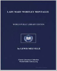 Lady Mary Wortley Montagu by Melville, Lewis