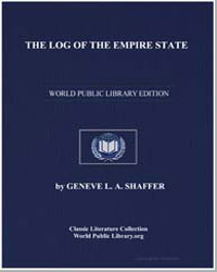 The Log of the Empire State by Shaffer, Geneve L. A.