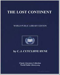 The Lost Continent by Hyne, Charles John Cutcliffe Wright