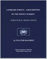 Lombard Street : A Description of the Mo... by Bagehot, Walter
