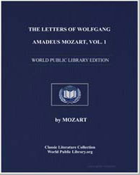 The Letters of Wolfgang Amadeus Mozart (... by Mamoun, John
