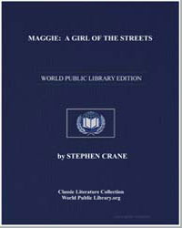 Maggie : A Girl of the Streets by Crane, Stephen