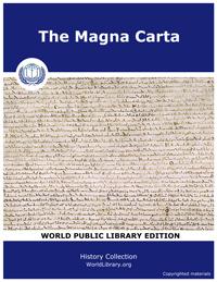 The Magna Carta by Hutchinson, Joshua