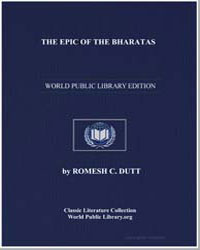 The Epic of the Bharatas (Mahabharata) :... by Dutt, Romesh C.