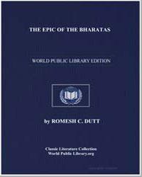 The Epic of the Bharatas (Mahabharata) :... by Dutt, Romesh C.