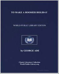 To Make a Hoosier Holiday by Ade, George