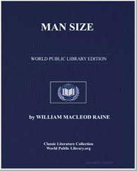 Man Size by Raine, William Macleod