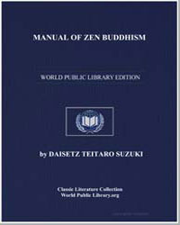Manual of Zen Buddhism by Suzuki, Daisetz Teitaro