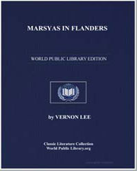Marsyas in Flanders by Lee, Vernon