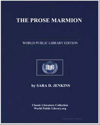 The Prose Marmion by Jenkins, Sara D.