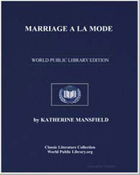 Marriage a la Mode by Mansfield, Katherine