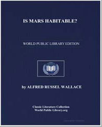 Is Mars Habitable? by Wallace, Alfred Russell