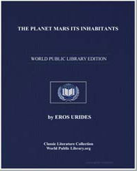 The Planet Mars Its Inhabitants by Urides, Eros