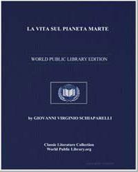 La Vita Sul Pianeta Marte by Schiaparelli, Giovanni Virginio