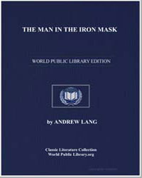 The Man in the Iron Mask by Lang, Andrew, M. A.