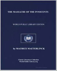 The Massacre of the Innocents by Maeterlink, Maurice