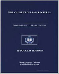 Mrs. Caudle's Curtain Lectures by Jerrold, Douglas