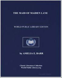 The Maid of Maiden Lane by Barr, Amelia Edith Huddleston