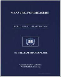 Measvre, For Measure by Shakespeare, William
