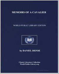 Memoirs of a Cavalier by Defoe, Daniel
