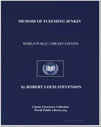 Memoir of Fleeming Jenkin by Stevenson, Robert Louis