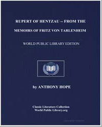 Rupert of Hentzau from the Memoirs of Fr... by Hope, Anthony
