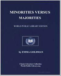 Minorities Versus Majorities by Goldman, Emma