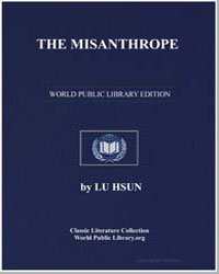 The Misanthrope by Hsun, Lu
