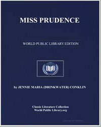 Miss Prudence by Conklin, Jennie Maria