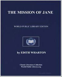 The Mission of Jane by Wharton, Edith