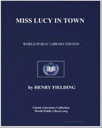 Miss Lucy in Town by Fielding, Henry
