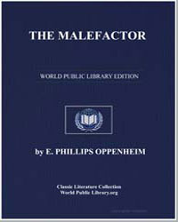The Malefactor by Oppenheim, Edward Phillips