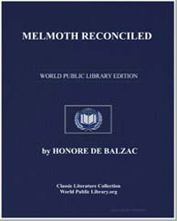 Melmoth Reconciled by De Balzac, Honore